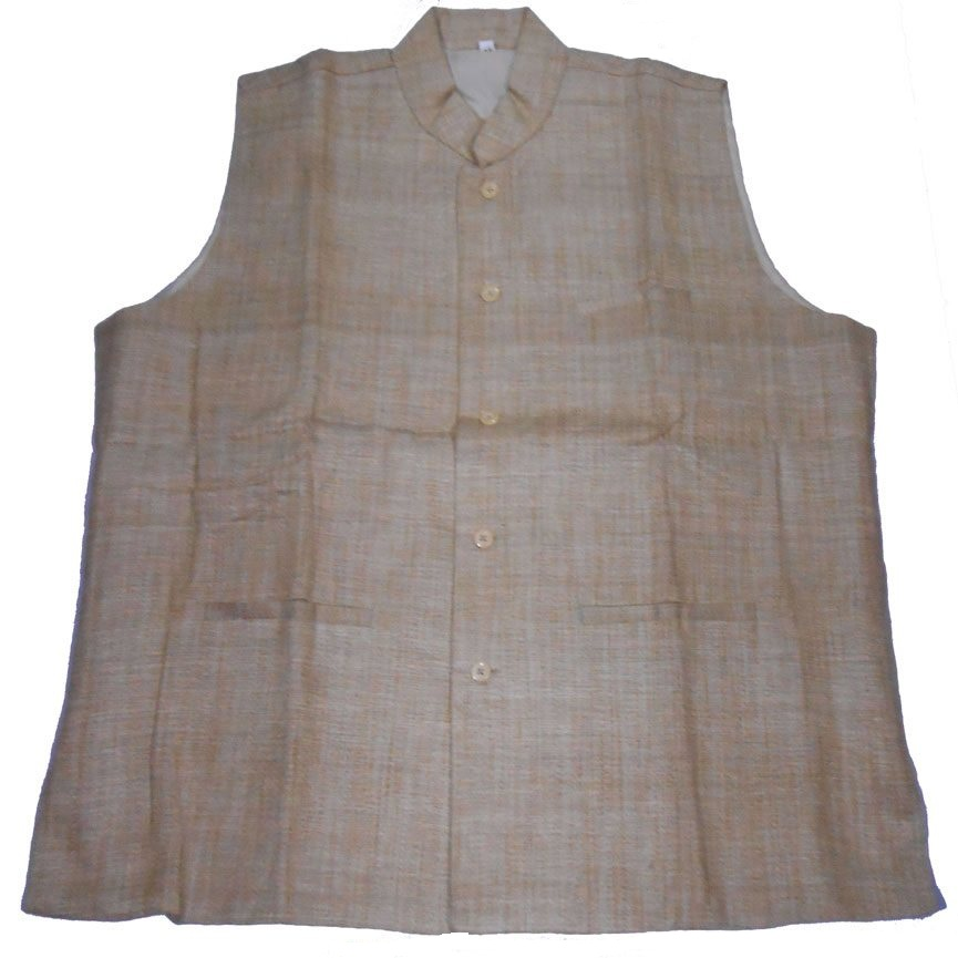 Tussar Men Jacket